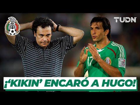 El día que el 'Kikin' encaró a Hugo Sánchez en Selección I TUDN