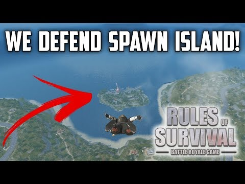 SPAWN ISLAND DROP! w/ Noah, Bobby, TuPro, & Hitman - Rules of Survival