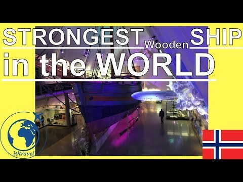 STRONGEST WOODEN SHIP in the WORLD(Fram Polar Ship Museum,Os