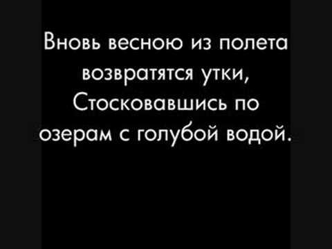 Михаил Шуфутинский Утки (w/lyrics)