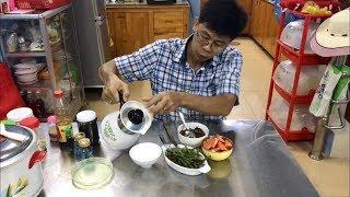 Hướng dẫn cách nấu cơm gạo lức, rang muối mè, cách luộc rau ngon và ăn bữa cơm thực dưỡng Ohsawa