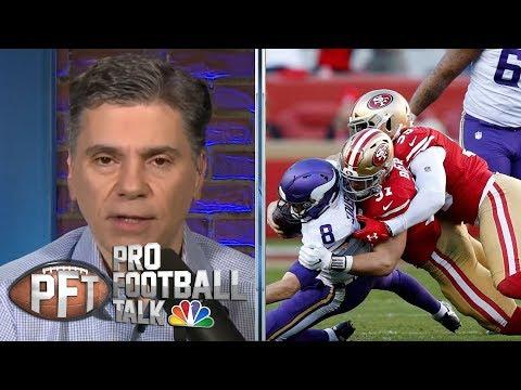 San Francisco 49ers physically dominate Minnesota Vikings in win | Pro Football Talk | NBC Sports