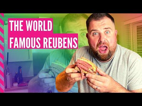 THE WORLD FAMOUS REUBENS SANDWICH!