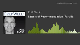 Letters of Recommendation (Par…