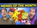 Generations React To Memes Of The Month (Ight Imma Head Out, VSCO Dogs, Ash Ketchum)