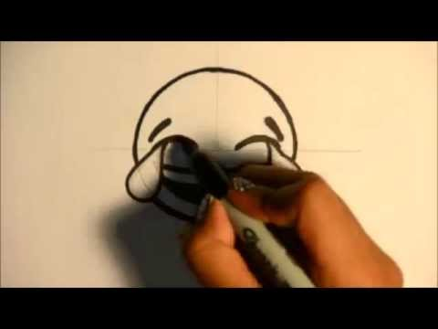 how-to-draw-the-laughing-with-tears-emoji---for-beginners