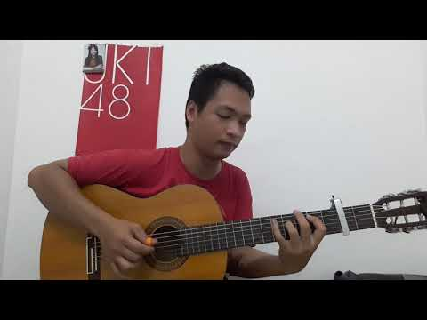 JKT48 / AKB48 - Ame no Pianist (Acoustic Guitar Fingerstyle Cover)