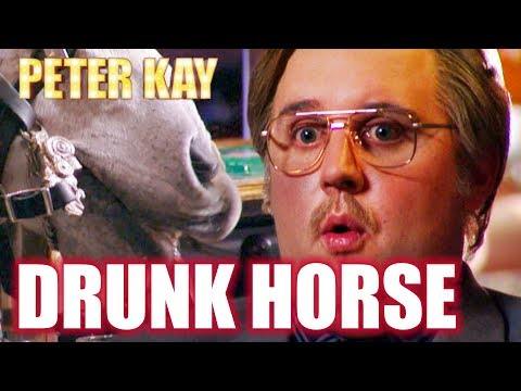 Drunk Horse - Phoenix Nights   Peter Kay