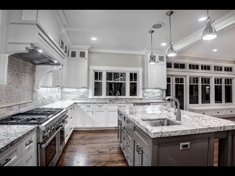 White And Gray Countertop Youtube