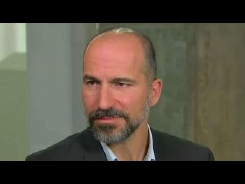 Uber CEO Dara Khosrowshahi talks IPO plans