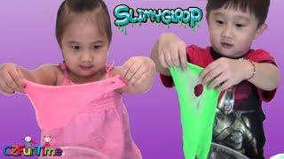 Making Slime with SLIMY GLOOP Kit!  Kids Fun Activity
