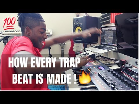 HOW TO MAKE A TRAP BEAT FROM SCRATCH 2018 @DanielzMusic #WEGOOD