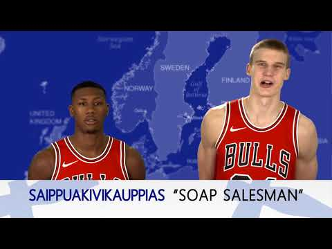 Speaking Finnish with Lauri Markkanen