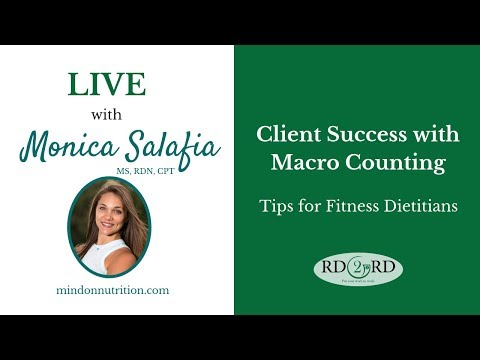 Macro Counting for Fitness Dietitians: Tips and Tools for Client Success