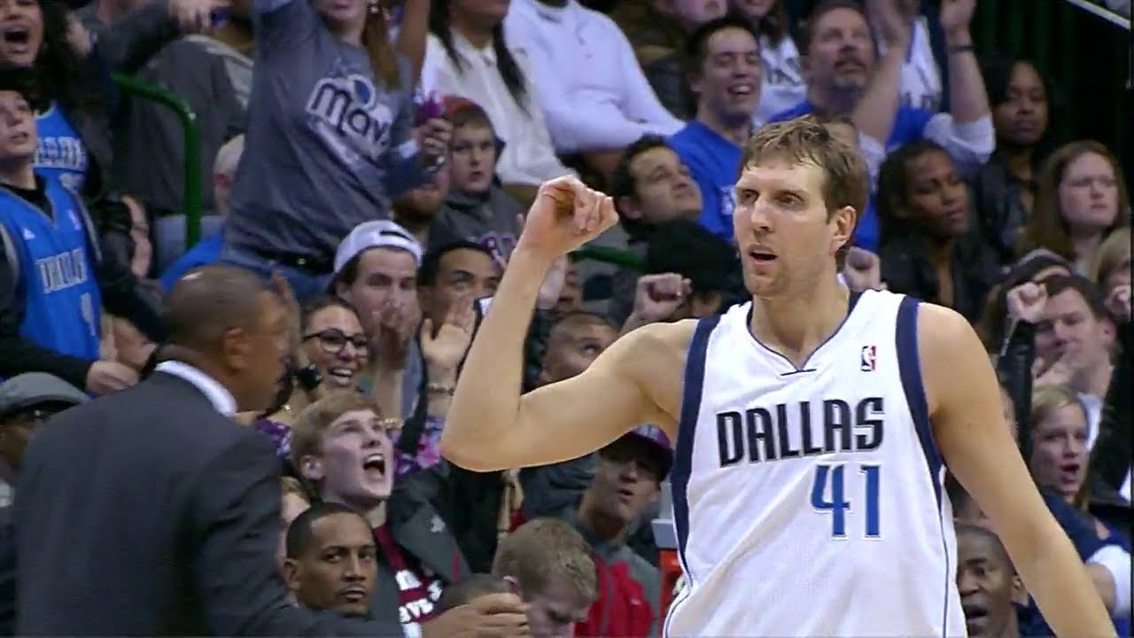 Dirk Nowitzki 24 Points Game Highlights Clippers Vs Mavericks 2014 01 03