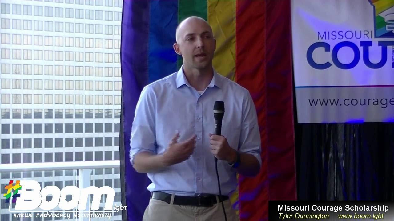 MO Courage Scholarship Anniversary Party 2016 - Tyler Dunnington - YouTube