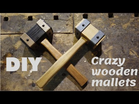 How To Make Cool Wood Mallet !!!!!