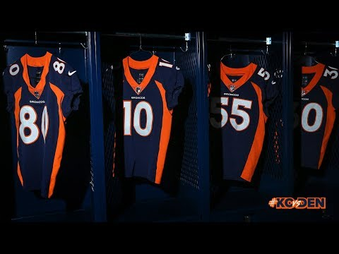Broncos Break Out Blue Jerseys For 'Monday Night Football'
