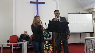 Dueto: Rev. Carlos Alberto Monteiro e Ester Feijoli - Não Há Barreiras (Álvaro Tito)