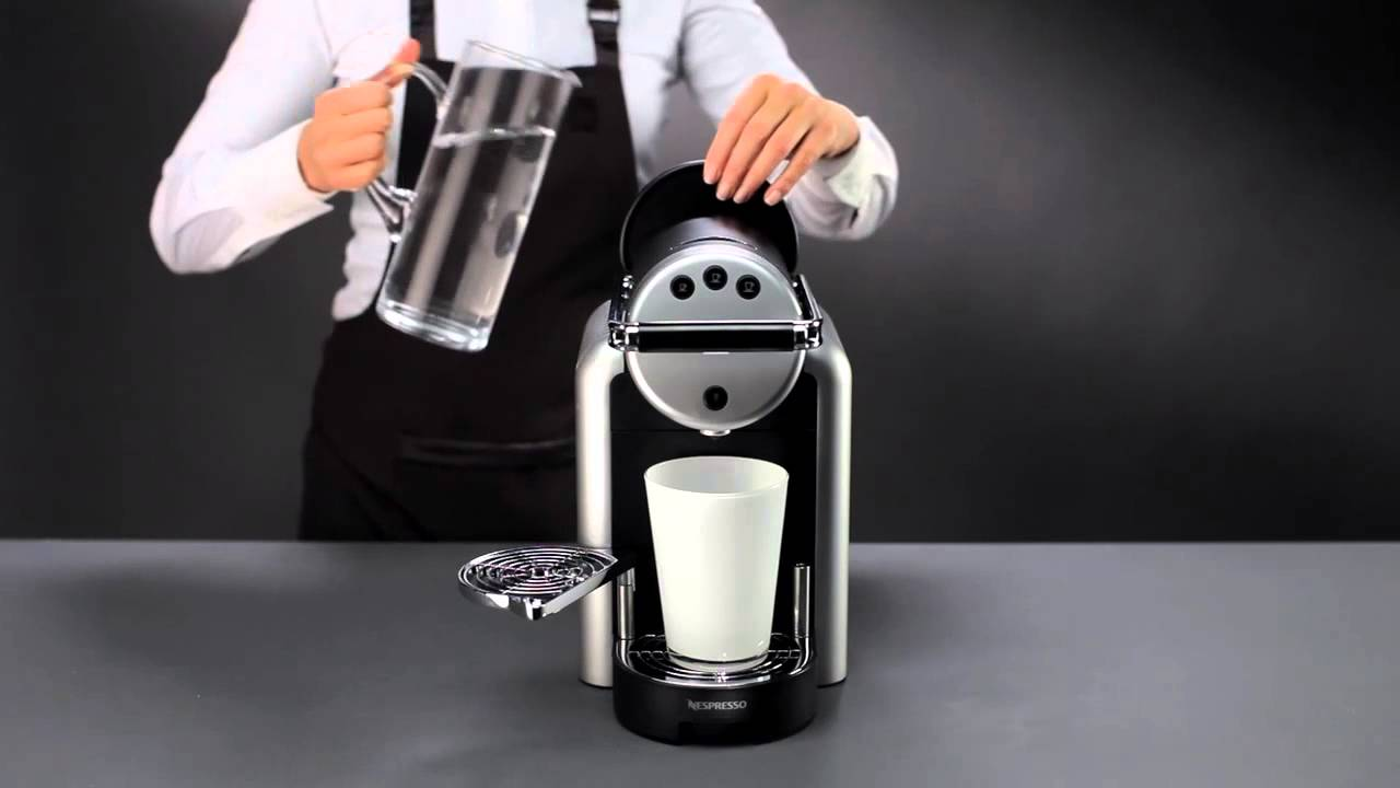 Nespresso zenius how to descaling youtube for Meuble zenius nespresso