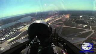 F-22 Raptor - Video From Cockpit in High Definition