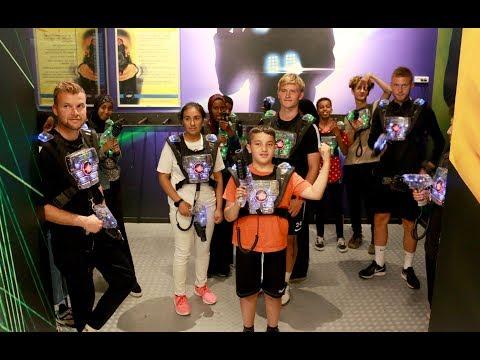 Fun'n'Football med børn og unge fra Ellekonebakken