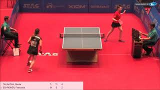 Мария Тайлакова vs Franziska Schreiner (GER) | European Youth Championships 2019 (final)