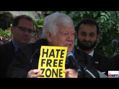 United front against hate and discrimination following refugee debate