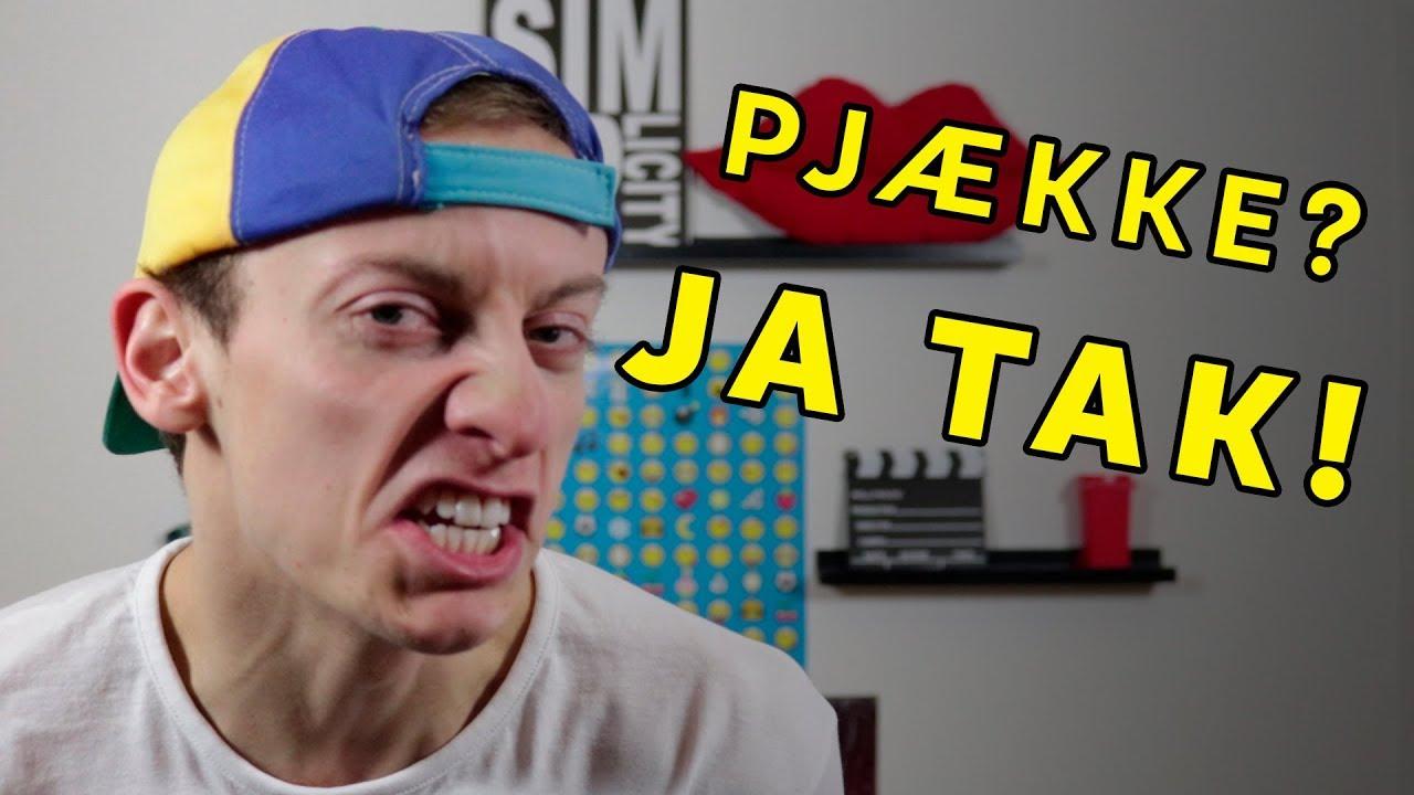 DERFOR MÅ DU GERNE PJÆKKE