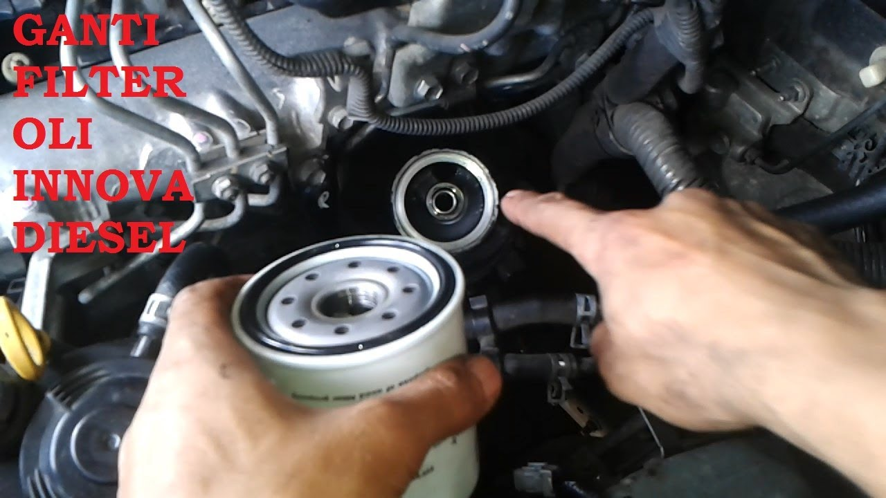 Oli All New Kijang Innova Corolla Altis Vs Skoda Octavia Ganti Filter Diesel Youtube