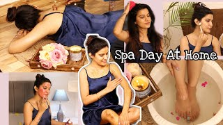 DIY - At Home Spa Day 🌸   *Glowing Skin* Skincare & Pampering   Super Style Tips