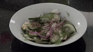 Cucumber Zucchini Salad : Cucumber Salad Ideas