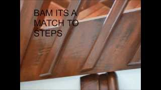 How Faux Painting Graining Wood Florida Artist Painter Garage Cabinetry How To Reface
