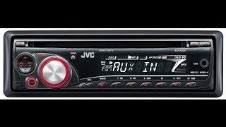 CD-Ресивер JVC KD-R207 и видеообращение в конце