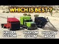 GTA 5 ONLINE : PHANTOM VS HAULER VS PHANTOM WEDGE (WHICH IS BEST?)