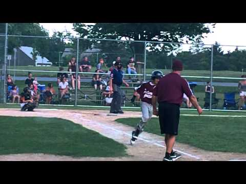 Stephen Lalime hits walk off HOME RUN for Portsmou...