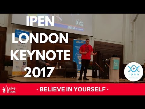 Luke Speaks at International Positive Education Network Conference London