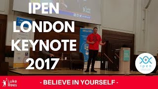 Luke Rees - International Positivity Education Network Conference London 2017