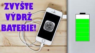 ✅ Jak prodloužit výdrž baterie iPhonu? Návod ZDE!