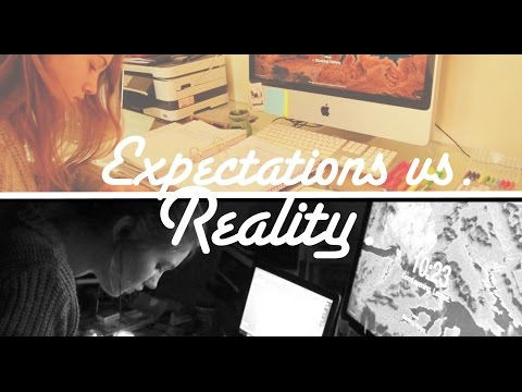 Expectations vs. Reality of a Studyblr