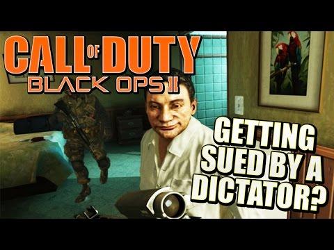 DICTATOR SUES BLACK OPS 2 - Manuel Noriega vs Activision (Call of Duty)