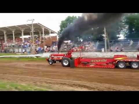 Outlaw Truck & Tractor Pull at Hardin County Fair, Eldora, Iowa Highlights