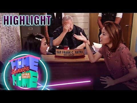 Julie and Mikee argue in front of Kap Frank | HSH Extra Sweet