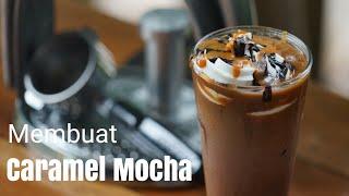 Cara membuat Caramel Mocha, Coffee? - Minuman Kopi
