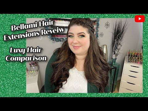 BELLAMI HAIR EXTENSIONS HONEST REVIEW/ COMPARISON TO LUXY