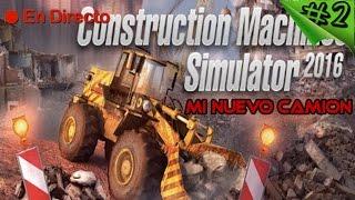 Construction Machines Simulator 2016 #2 - Nuevo Camion + Nueva Hormigonera - Español 1080p HD