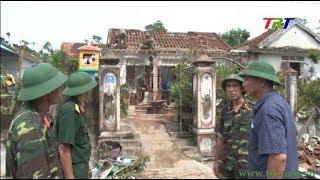 Lực lượng vũ trang giúp nhân dân khắc phục hậu quả thiên tai