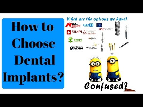 How to choose a Dental Implant - Basic intro to Implants | Denta Kings dental implant center
