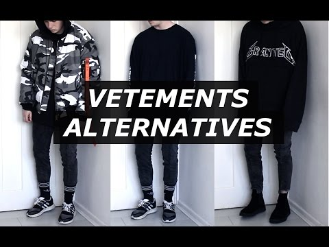 Vetements Affordable Alternatives | Mens Fashion, Streetwear, Luxury, 2017 | Gallucks