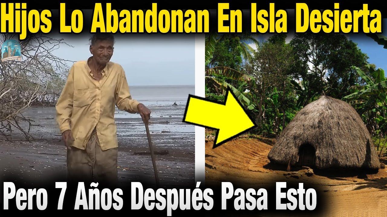 Sus Hijos Lo Engañan y Abandonan En Una Isla Desierta Pero 7 Años Después Pasa Algo Impactante